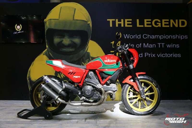 เจาะลึก!! สเป็ค และต้นกำเนิด Ducati Scrambler Special Edition Mike Hailwood®  รถลิมิเต็ด 58 คัน ในประเทศไทย | MOTOWISH 45