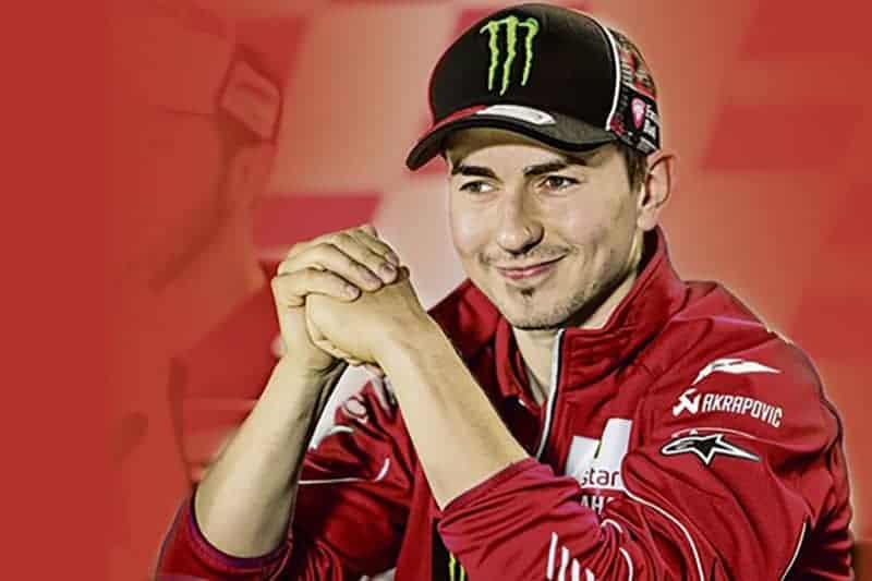 Jorge Lorenzo กระโดดนอนบนรถ Ducati GP เป็นที่เรียบร้อยแล้ว !!! | MOTOWISH 137