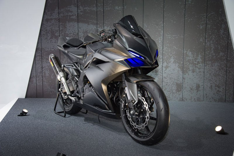 ไปเทียบกัน อะไรเหมือนอะไรต่างระหว่าง Honda Light Weight Supersport Concept กับ All New Honda CBR250RR   MOTOWISH 147