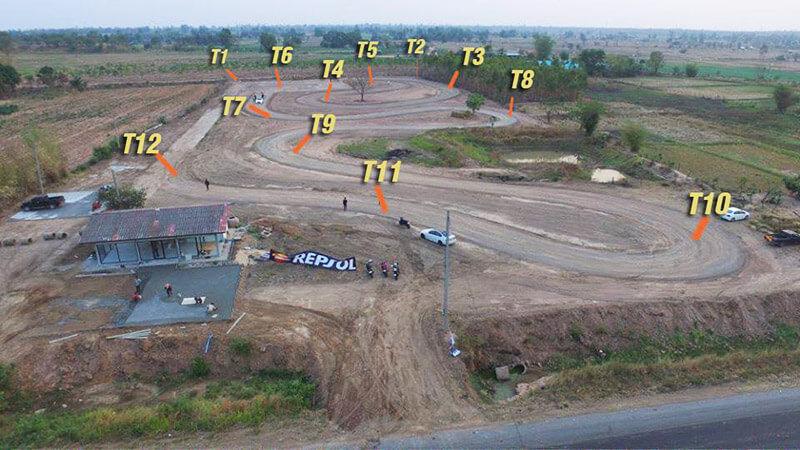สนามแข่งรถแห่งใหม่ Redline Circuit จังหวัดมหาสารคาม | MOTOWISH 139