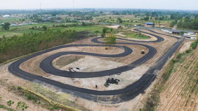 สนามแข่งรถแห่งใหม่ Redline Circuit จังหวัดมหาสารคาม | MOTOWISH 140