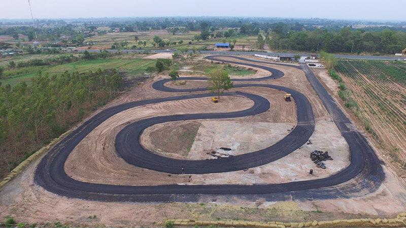 สนามแข่งรถแห่งใหม่ Redline Circuit จังหวัดมหาสารคาม | MOTOWISH 141