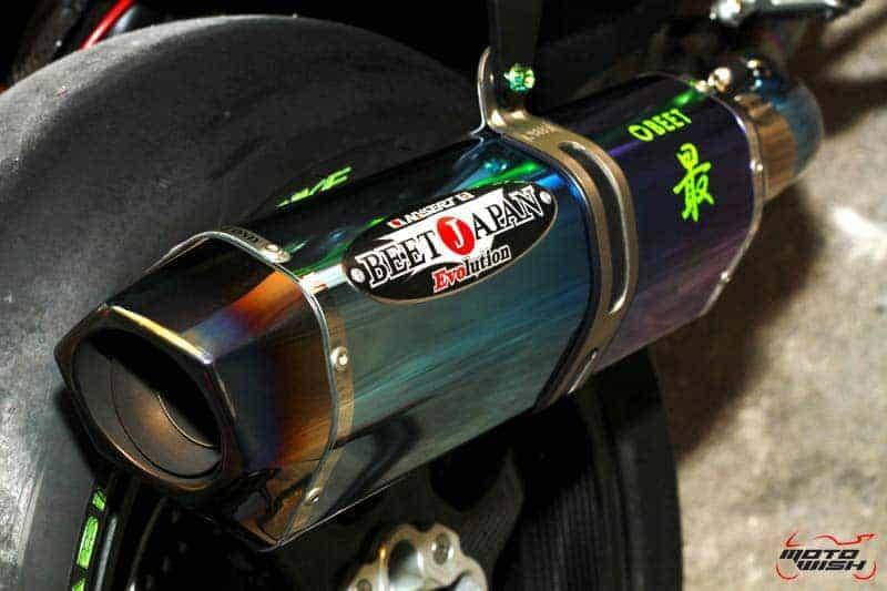 โดนตำรวจจับ !!! ข้อหาท่อไอเสียรถจักรยานยนต์ที่ไม่มีตรา มอก. (ท่อแต่ง) | MOTOWISH 10