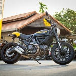 ตะลุยกลางเมืองไปกับ Ducati Scrambler Sixty2 VS ICON มีความแนว มีความเท่ห์ !!! | MOTOWISH 47