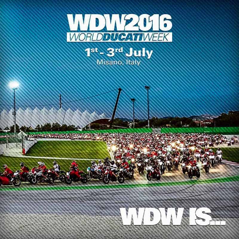 World Ducati Week 2016 อีกหนึ่งสุดยอดงานรวมตัวคนรักบิ๊กไบค์จากทั่วทุกมุมโลก | MOTOWISH 100