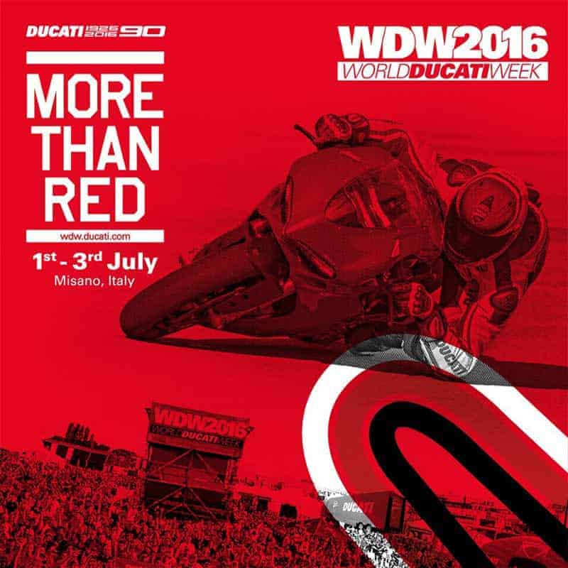 motowish World Ducati Week 2 - มีเซอร์ไพรส์ให้ตลอด!! Ducati เตรียมเปิดตัวรถ 2 โมเดลใหม่ในงาน World Ducati Week - ใกล้เข้ามาทุกทีสำหรับ World Ducati Week (WDW) งานรวมพลคนรักดูคาติ ที่จัดขึ้น ณ สนามมิซาโน่ ประเทศอิตาลี่ ในวันที่ 1-3 กรกฎาคม 2016 ในครั้งนี้ดูคาติประกาศข่าวดีให้กับแฟนๆได้ทราบว่าจะมีการเปิดตัวรถ 2 โมเดลใหม่ภายในงาน