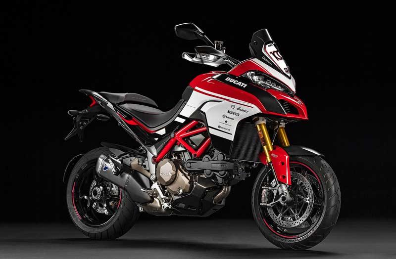 Ducati Multistrada Pikes Peak 100th Anniversary ชุดแต่งสุด Limited ฉลอง 100 ปี Pikes Peak | MOTOWISH 108