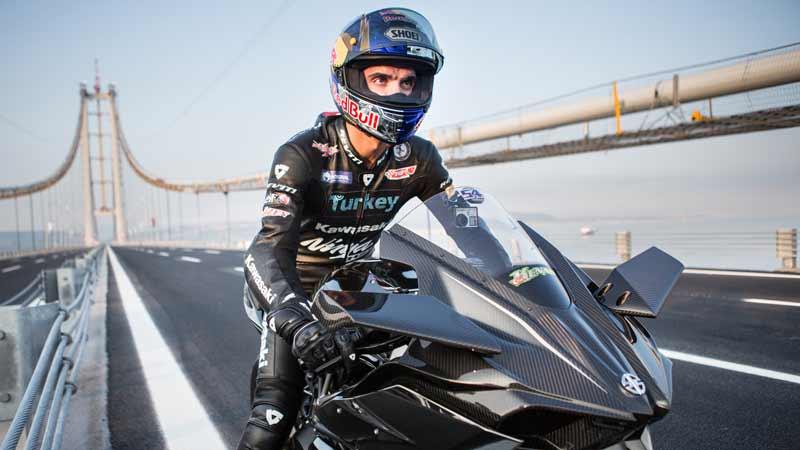 เร็วอะไรจะเบอร์นั้น!! คีแนน โซฟูโอกลู ควบ Kawasaki H2R สร้างสถิติใหม่ 400 km/h | MOTOWISH 142