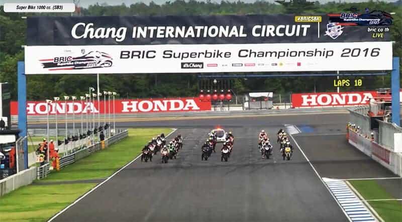 ชมการแข่งขันย้อนหลังรายการ BRIC Superbike Championship Round 1 Race ในรุ่น 1000 cc. SB3 | MOTOWISH 142