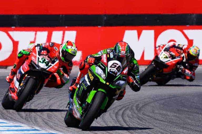 ย้อนหลัง Race 2 การแข่งขัน WSBK สนามที่ 9 Mazda Raceway Laguna Seca Circuit | MOTOWISH 35