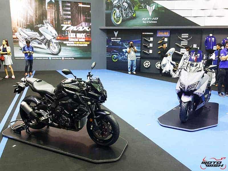 Motowish yamaha super naked mt 10 tmax lux for Yamaha mt10 price