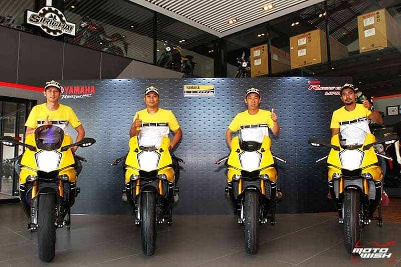 Yamaha Riders' Club Lopburi ส่งมอบรถ R1 60th Anniversary ยกฝูง !!! | MOTOWISH 84