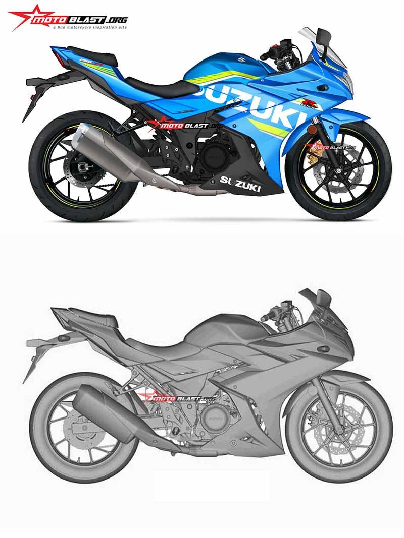 ชมภาพเรนเดอร์ Suzuki GSX-R250 2017 แต่งแต้มสีสันให้เสมือนจริงมากขึ้น | MOTOWISH 74