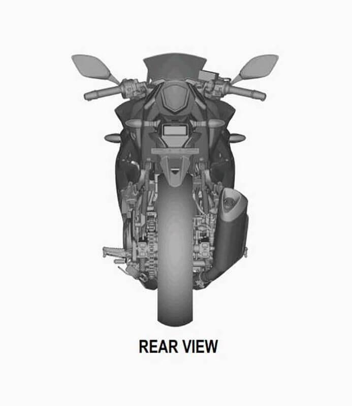 เห็นเต็มตา!! ภาพสิทธิบัตรดีไซน์สุดท้าย Suzuki GSX-R250 2017 | MOTOWISH 68
