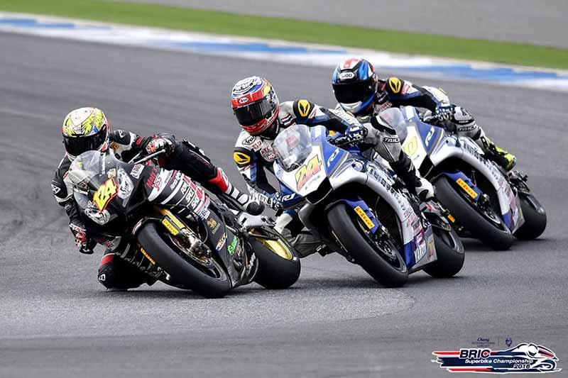 ช็อตเด็ดมันส์ๆ Yamaha แซนวิส Honda กดแชมป์สนามที่ 3 BRIC SuperBike 1000cc. SB1 | MOTOWISH 87