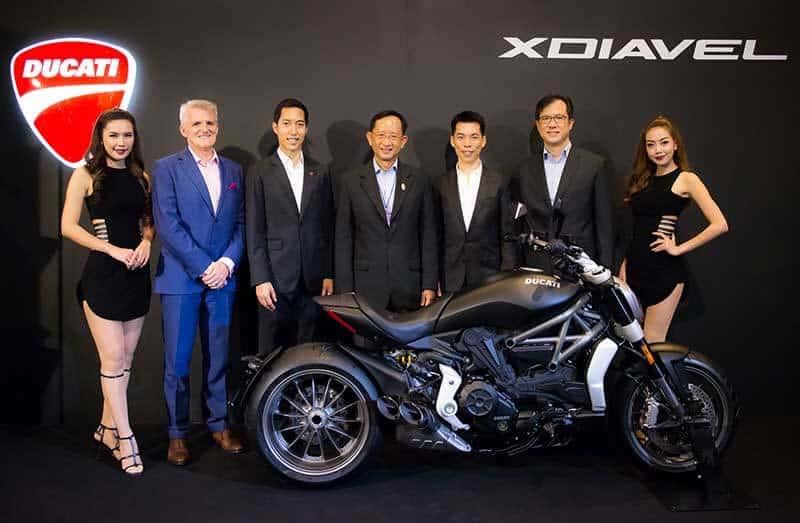Ducati Thailand ร่วมลงนามพันธมิตร บมจ.การบินไทย เพื่อมอบสิทธิพิเศษแก่ลูกค้าคนสำคัญ | MOTOWISH 84