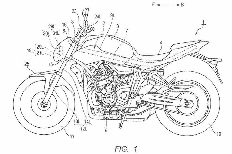 motowish yamaha MT 07 1 - ว่าที่ Yamaha MT-07 โฉมใหม่ โคมไฟหน้าโฉบเฉี่ยวเฟี้ยวฟ้าว - ไหนใครเป็นแฟน Yamaha MT-07 บ้าง ล่าสุดมีกระแสข่าวจากทางเมืองนอกมาแล้วว่า รูปโฉมของโคมไฟหน้าเจ้าเน็คเก็คไบค์ MT-07 ใหม่จะถูกปรับโฉมให้ดูทันสมัยขึ้น โดยการรวมเอาไฟเลี้ยวไปอยู่ร่วมกับโคมไฟหน้า จากที่เห็นในภาพสิทธิบัตร ต้องเรียกว่ามีการปรับปรุงให้ดูโฉบเฉี่ยวขึ้นมาก