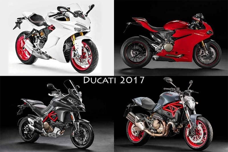 Ducati Monster, Multistrada, Panigale ยกทัพปรับใหม่รับปี 2017 | MOTOWISH 89