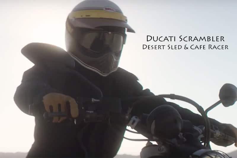 Ducati เปิดทีเซอร์ 2 รุ่นใหม่ บ่งบอกไลฟ์สไตส์ Scrambler Desert Sled และ Cafe Racer | MOTOWISH 119