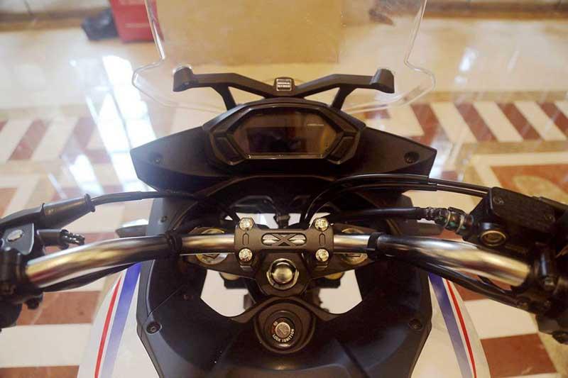 ชมภาพ Honda CBF190X มินิแอดเวนเจอร์ไบค์คันใหม่ จากค่ายปีกนก | MOTOWISH 150