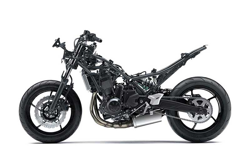 Kawasaki Z650 2017 เน็คเก็ตไบค์ไซส์กลางที่แยกร่างมาจาก New Ninja 650 (Intermot 2016)   MOTOWISH 151