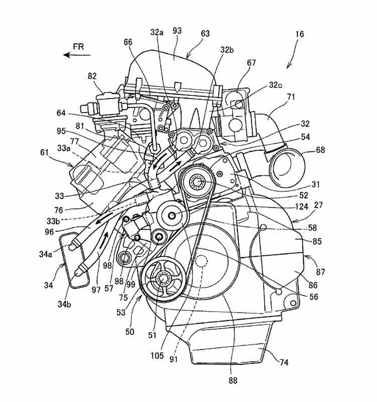 เปิดสิทธิบัตรสุดลับ เครื่องยนต์ซุปเปอร์ชาร์จจากค่าย Honda | MOTOWISH 63