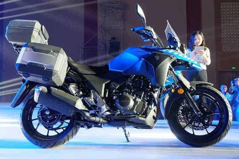 เปิดตัวอีกรุ่น Suzuki V-Strom 250 แอดเวนเจอร์ไบค์ไซส์มินิจากค่ายซู | MOTOWISH 145