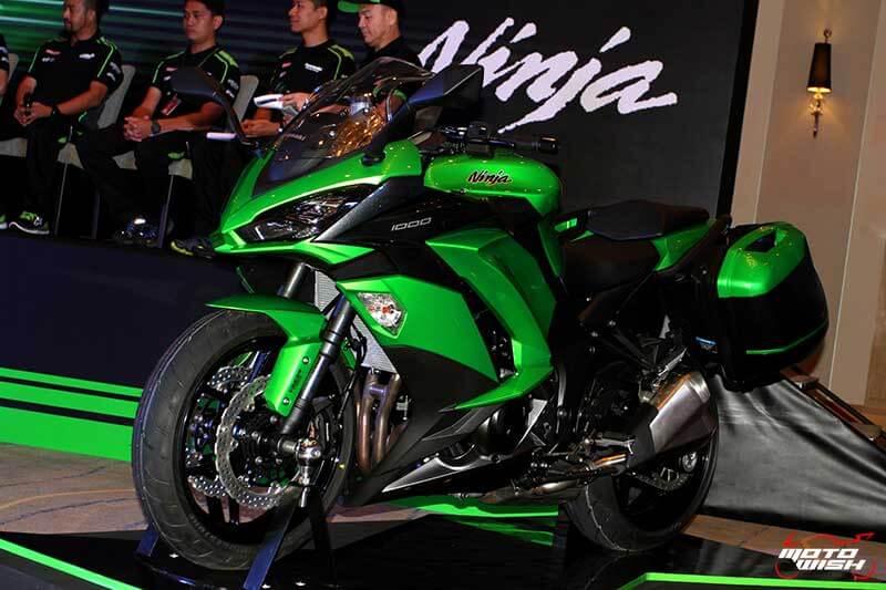 MotoWish 2017 Kawasaki Ninja 1000 09 - Kawasaki จัดหนักขนทัพรถใหม่ล่าสุดทุกโมเดล เอาใจคอบิ๊กไบค์ในงาน Motor Expo 2016 - บริษัท คาวาซากิ มอเตอร์ เอ็นเตอร์ไพรส์ (ประเทศไทย) จำกัด ผู้ผลิตรถจักรยานยนต์บิ๊กไบค์ชั้นนำของโลก เปิดมอบประสบการณ์สุดพิเศษให้แก่นักขับขี่และผู้สนใจรถจักรยานยนต์บิ๊กไบค์ ด้วยการจัดแสดงโมเดลใหม่ล่าสุดของปี 2017