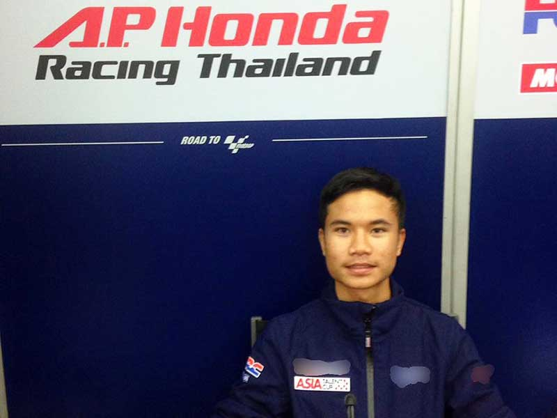 MotoWish Chip Nakarin 41 AP Honda Racing Thailand - ชิพ นครินทร์ นักแข่งดาวรุ่งของไทยรับสิทธิ์ลงแข่ง Moto3 ปี 2017 - คนไทยเตรียมเฮ!!! ได้เชียร์นักแข่งไทยในเวิลด์คลาส ชิพ นครินทร์ อธิรัฐภูวิภัทร์ นักบิดดาวรุ่นวัยละอ่อน โชว์ฟอร์มสดรับสิทธิ์ลงหวดคันเร่งระดับโลกในรายการ Moto3 ปี 2017