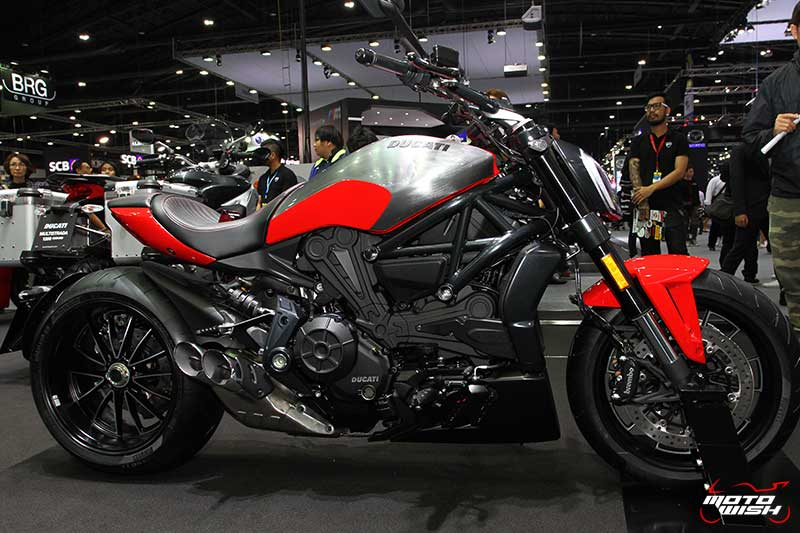 Ducati โชว์รถคัสตอม พร้อมจัดเต็มแคมเปญพิเศษทุกรุ่น (MOTOR EXPO 2016) | MOTOWISH 120