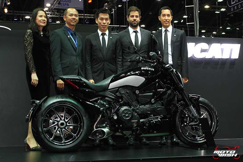 Ducati โชว์รถคัสตอม พร้อมจัดเต็มแคมเปญพิเศษทุกรุ่น (MOTOR EXPO 2016) | MOTOWISH 123