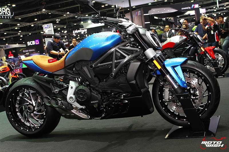 Ducati โชว์รถคัสตอม พร้อมจัดเต็มแคมเปญพิเศษทุกรุ่น (MOTOR EXPO 2016) | MOTOWISH 124