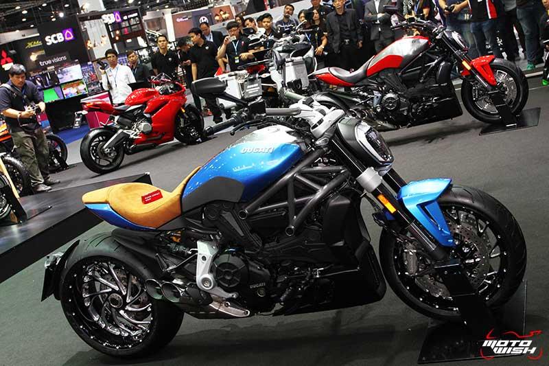 Ducati โชว์รถคัสตอม พร้อมจัดเต็มแคมเปญพิเศษทุกรุ่น (MOTOR EXPO 2016) | MOTOWISH 125
