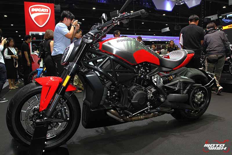 Ducati โชว์รถคัสตอม พร้อมจัดเต็มแคมเปญพิเศษทุกรุ่น (MOTOR EXPO 2016) | MOTOWISH 126