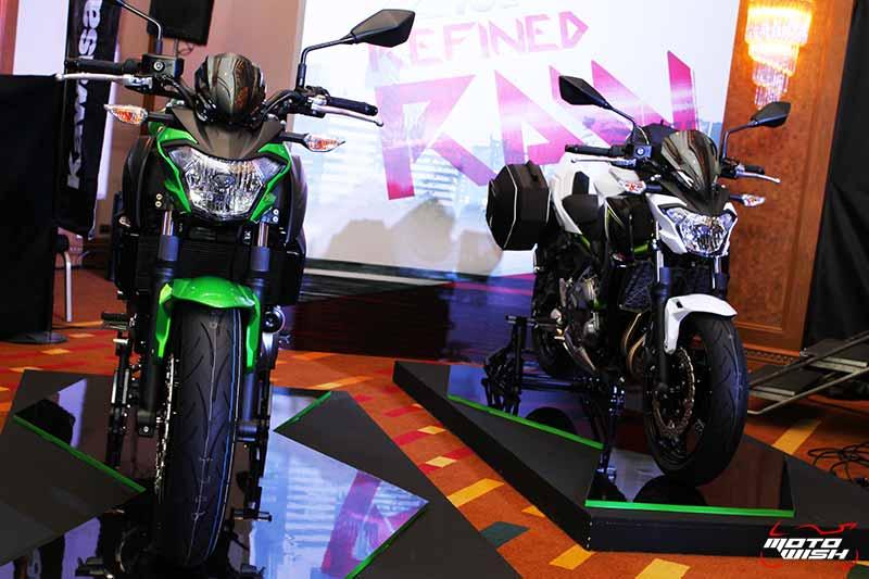 MotoWish Kawasaki Z650 2017 4 - Kawasaki จัดหนักขนทัพรถใหม่ล่าสุดทุกโมเดล เอาใจคอบิ๊กไบค์ในงาน Motor Expo 2016 - บริษัท คาวาซากิ มอเตอร์ เอ็นเตอร์ไพรส์ (ประเทศไทย) จำกัด ผู้ผลิตรถจักรยานยนต์บิ๊กไบค์ชั้นนำของโลก เปิดมอบประสบการณ์สุดพิเศษให้แก่นักขับขี่และผู้สนใจรถจักรยานยนต์บิ๊กไบค์ ด้วยการจัดแสดงโมเดลใหม่ล่าสุดของปี 2017