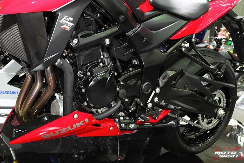 เจาะทุกรายละเอียดของ Suzuki GSX-S750 ตัวเจ็บแต่ราคาเร้าใจ (Motor Expo 2016) | MOTOWISH 109