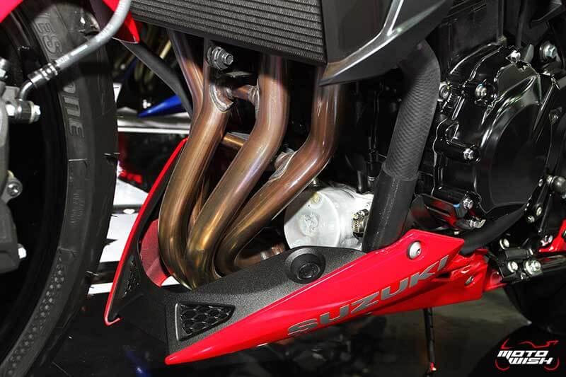 เจาะทุกรายละเอียดของ Suzuki GSX-S750 ตัวเจ็บแต่ราคาเร้าใจ (Motor Expo 2016) | MOTOWISH 102