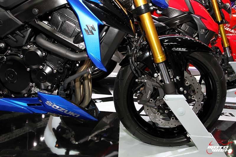 เจาะทุกรายละเอียดของ Suzuki GSX-S750 ตัวเจ็บแต่ราคาเร้าใจ (Motor Expo 2016) | MOTOWISH 111