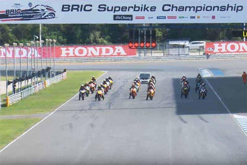 ชมการแข่งขันย้อนหลัง BRIC SUPERBIKE สนามสุดท้าย มีครบทุกรุ่นความมันส์   MOTOWISH 126
