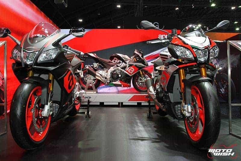 เปิดตัวแล้วในไทย!! Aprilia RSV4RF สุดยอดซุปเปอร์ไบค์สายสนาม (Motor Expo 2016) | MOTOWISH 81