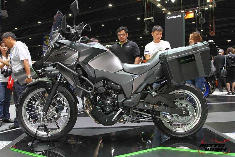 Motowish Moto Expo 2017Kawasaki 3 - เปิดตัวยิ่งใหญ่ Kawasaki เปิดโฉมรถใหม่ทุกโมเดล  Versys X300 & W800 ก็มา (Motor Expo 2016) - บริษัท คาวาซากิ มอเตอร์ เอ็นเตอร์ไพรส์ (ประเทศไทย) จำกัด มอบประสบการณ์สุดพิเศษให้แก่นักขับขี่ และผู้สนใจบิ๊กไบค์ จัดใหญ่ด้วยการแสดงรถโมเดลใหม่ล่าสุดของปี 2017 โดยไฮไลท์ภายในงานอยู่ที่รถตระกูล Ninja สุดยอดโมเดลสายพันธุ์แชมป์ Ninja ZX-10RR