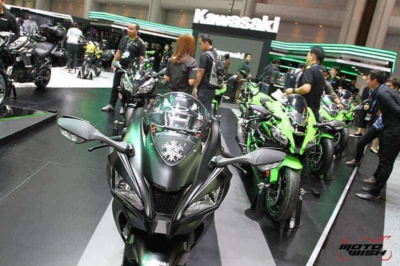 เปิดตัวยิ่งใหญ่ Kawasaki เปิดโฉมรถใหม่ทุกโมเดล Versys X300 & W800 ก็มา (Motor Expo 2016) | MOTOWISH 129