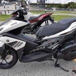 Yamaha Aerox 155 16 150x150 - Yamaha Aerox 155 cc. สปอร์ตออโตเมติกเต็มพิกัดล้ำเทคโนโลยี - บจ.ไทยยามาฮ่ามอเตอร์ เปิดตัวรถรุ่นใหม่ Yamaha Aerox 155 cc. ยามาฮ่า แอร็อกซ์ 155 ซีซี สปอร์ตออโตเมติกเต็มพิกัดจัดเต็มด้วยเทคโนโลยี ที่ตอบสนองความต้องการของผู้ที่ชื่นชอบรถ Sport Performance AT