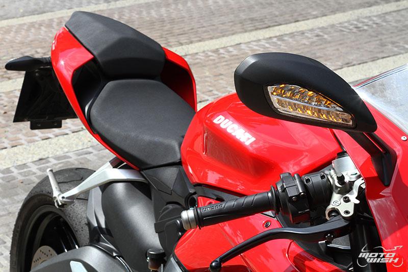 Review : Ducati 959 Panigale หล่อ หรู แบบมีเอกลักษณ์   MOTOWISH 150