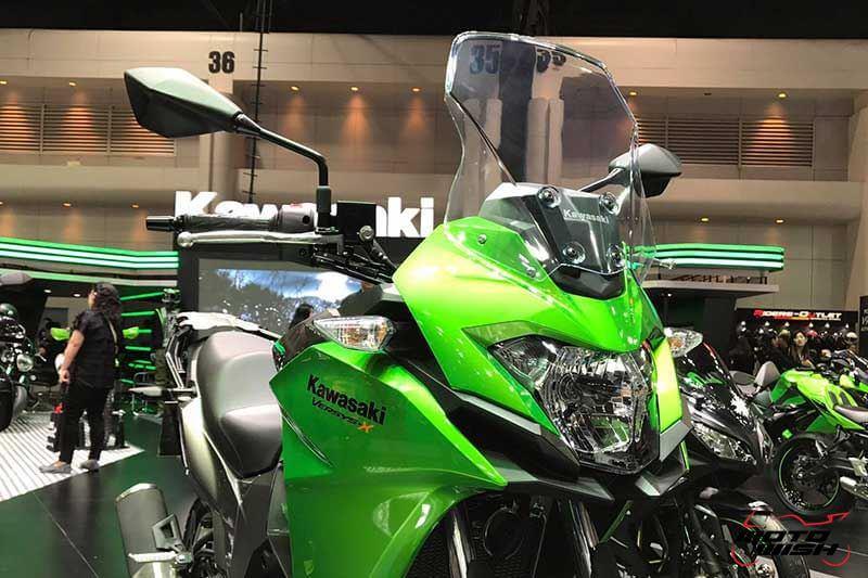 เจาะรายละเอียด Kawasaki Versys-X 300 ทัวร์ริ่งน้องเล็ก สเป็คไม่น้อยหน้าพี่ใหญ่ (Motor Expo 2016) | MOTOWISH 17