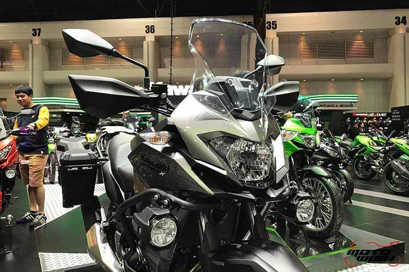 เจาะรายละเอียด Kawasaki Versys-X 300 ทัวร์ริ่งน้องเล็ก สเป็คไม่น้อยหน้าพี่ใหญ่ (Motor Expo 2016) | MOTOWISH 7