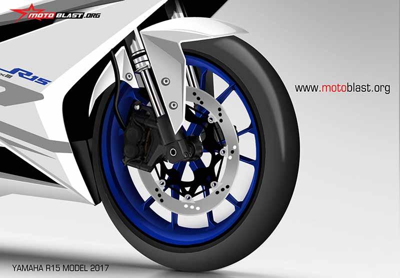 Motowish Yamaha R15 Render 2 - ส่องว่าที่ Yamaha R15 2017 สปอร์ตไบค์น้องเล็ก มีให้เห็นทั้งภาพแอบถ่าย และภาพเรนเดอร์ - ในที่สุดก็มีภาพหลุดออกมาให้เห็นกัน โดยเริ่มจากภาพแอบถ่ายขณะวิ่งทดสอบบนถนน จากนั้นก็มีภาพเรนเดอร์ที่ทำออกมาให้เห็นรายละเอียดแบบชัดเจน