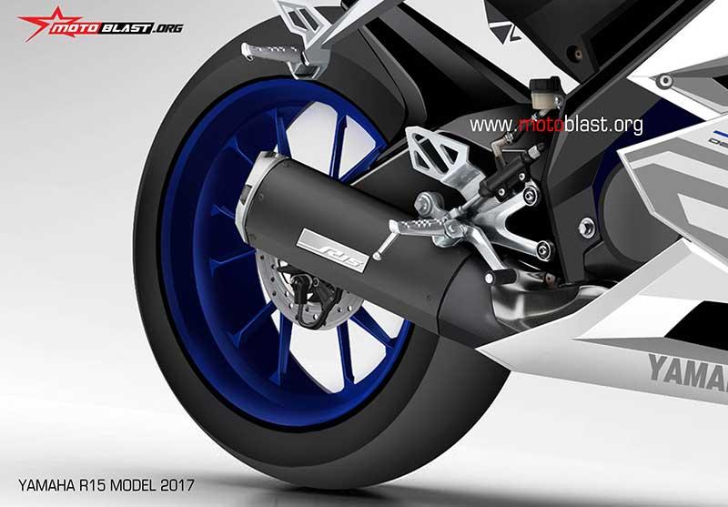 Motowish Yamaha R15 Render - ส่องว่าที่ Yamaha R15 2017 สปอร์ตไบค์น้องเล็ก มีให้เห็นทั้งภาพแอบถ่าย และภาพเรนเดอร์ - ในที่สุดก็มีภาพหลุดออกมาให้เห็นกัน โดยเริ่มจากภาพแอบถ่ายขณะวิ่งทดสอบบนถนน จากนั้นก็มีภาพเรนเดอร์ที่ทำออกมาให้เห็นรายละเอียดแบบชัดเจน