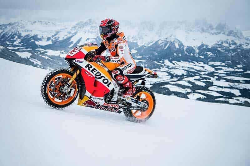 Marquez ควบ Honda RC213V ตะลุยลานสกีบนเทือกเขา | MOTOWISH 145