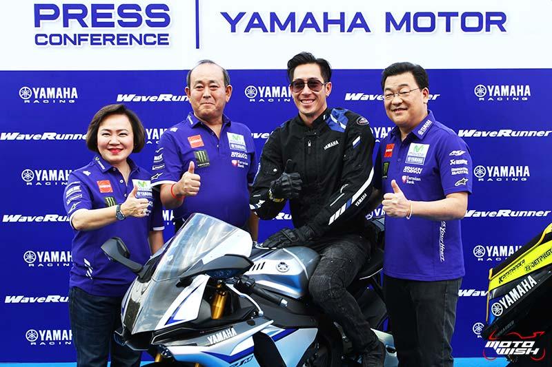 ไทยยามาฮ่า มอเตอร์ เปิดตัวทีมแข่ง Yamaha Thailand Racing Team 2017 | MOTOWISH 31